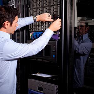 Обслуживание серверов в офисе